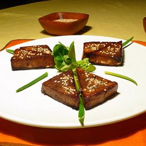 Opiekane tofu