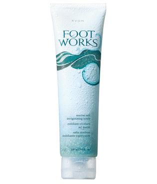 Foot Works - Marine Salt Invigorating Scrub - energetyzujący scrub do stóp z solą morską