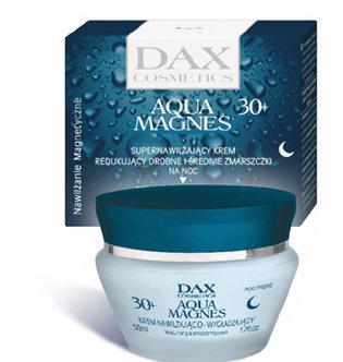 Aqua Magnes - supernawilżający krem redukujący drobne i średnie zmarszczki na noc 30+