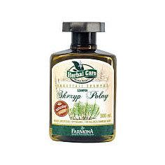 Herbal Care - szampon ze skrzypem polnym do włosów zniszczonych i wypadających