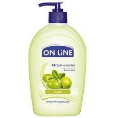 On Line - oliwka - kremowe mydło w płynie