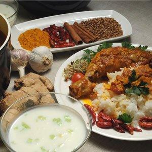Hinduskie curry z kurczaka
