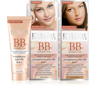 BB Cream Blemish Base - kompleksowy krem BB 6w1