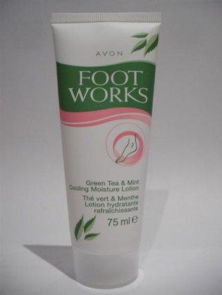 Foot Works - Green tea & mint - Chłodzący balsam do stóp
