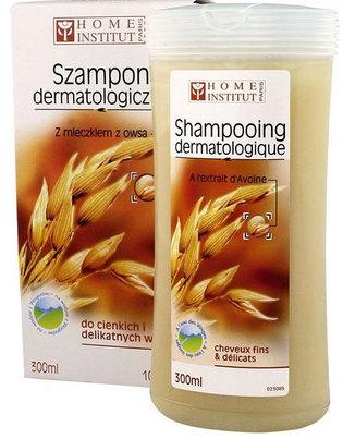 Szampon dermatologiczny z mleczkiem z owsa do cienkich i delikatnych włosów