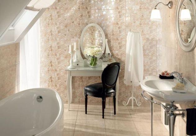 łazienka W Stylu Pałacowym Idealna Dla Wymagającej Kobiety
