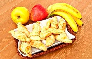 Rogaliki z jabłkiem i bananem