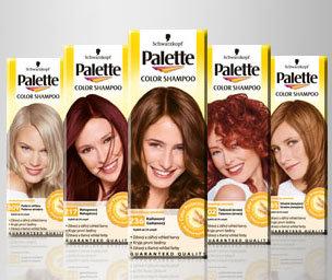 Palette Color Shampoo - Szampon koloryzujący do włosów
