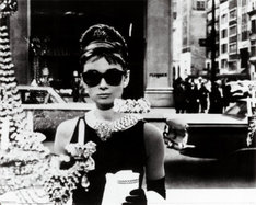 Audrey Hepburn w okularach Ray-Ban