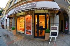 Jubileusz pięciolecia sklepu Stara Mydlarnia przy deptaku Chmielna w Warszawie
