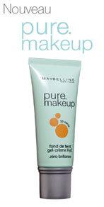 Pure makeup - superlekki podkład matujący