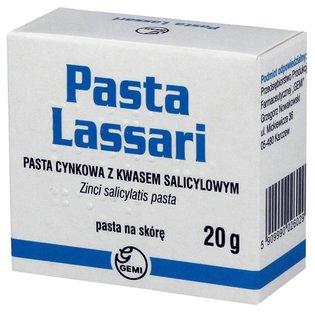Pasta Lassari - maść cynkowa