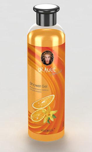 Orange Vanilla shower gel - Pomarańczowo-waniliowy żel do mycia ciała