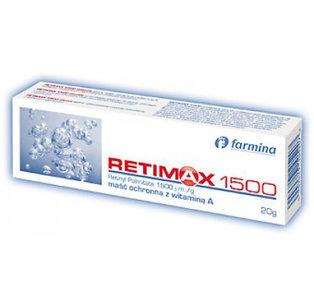 Retimax 1500 - maść ochronna z witaminą A