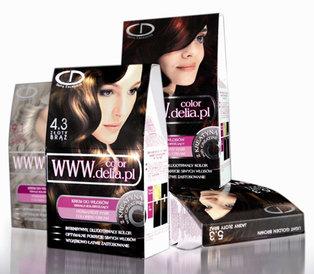 Farba do włosów Delia