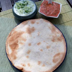 Tortilla z grilla