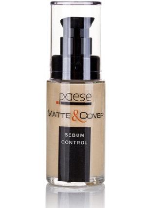 Paese - Matte & Cover Sebum Control - inteligentny podkład matująco-kryjący