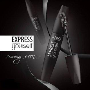 Joko- Express Yourself Mascara – tusz do rzęs pogrubiający