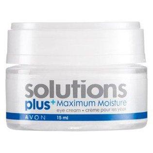 Solutions - Plus Maximum Moisture Eye Cream - Moc nawilżenia - Krem pod oczy