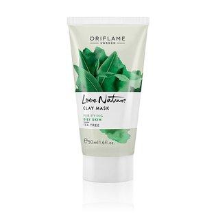 Love Nature – Clay Mask – maseczka do twarzy z glinką i drzewem herbacianym