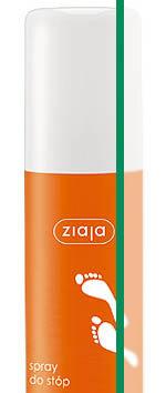 Spray dezodorujący do stóp, ochrona przeciwgrzybicza