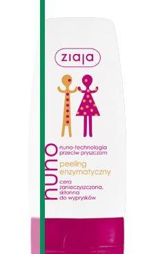 Nuno - technologia przeciw pryszczom - peeling enzymatyczny