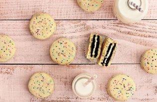 Kolorowe ciasteczka z niespodzianką