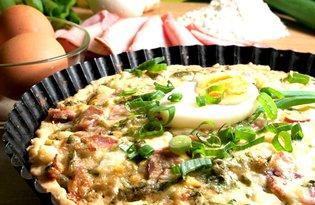 Tarta z szynką i jajkami