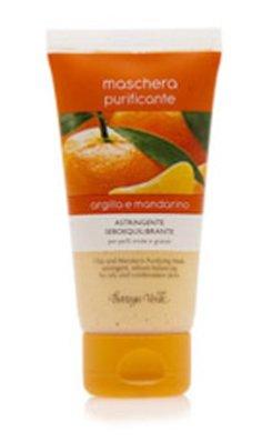 Maseczka oczyszczająca z glinką i ekstraktem z mandarynki
