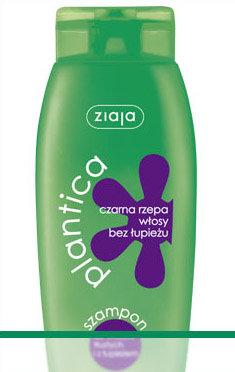 Plantica V - czarna rzepa - szampon przeciwłupieżowy, wzmacniający