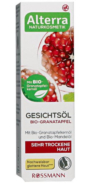 Alterra, Gesichtsol Bio - Granatapfel (Olejek do twarzy z granatem)