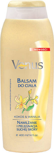Venus - Balsam do ciała - kokos & wanilia