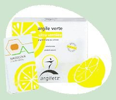 Glinka zielona Bio-citron