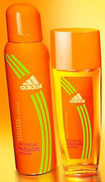 Adidas Tropical Passion deodorant spray for women
