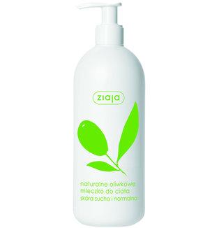 Naturalne oliwkowe mleczko do ciała skóra sucha i normalna