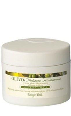 Olivo - rozświetlający krem do twarzy z masłem oliwnym
