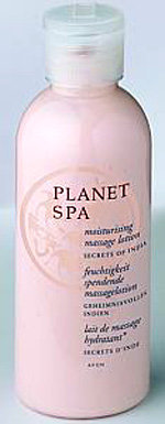 Planet Spa - Skarby Indii - Nawilżający olejek do masażu