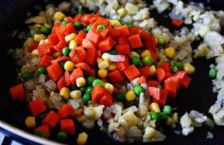 Cukinia faszerowana warzywami i ryżem