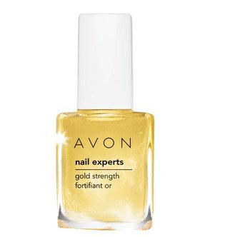Nail Experts - 24k Gold Strength - odżywka ze złotymi drobinkami do paznokci