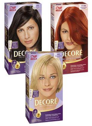 Decore - farba trwale koloryzująca z fluidem przed koloryzacją