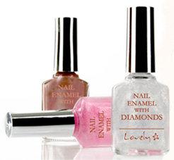 Lovely - Nail Enamel with Diamonds - Lakier do paznokci z połyskiem diamentowym
