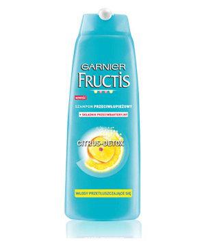 Fructis - Citrus Detox - pielęgnacja przeciwłupieżowa - szampon do włosów przetłuszczających się