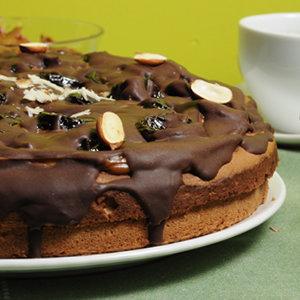 Tort ze śliwką w koniaku