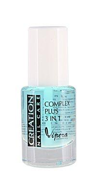 Creation Nail Care - Complex Plus 3in1 - wielofunkcyjny preparat do paznokci