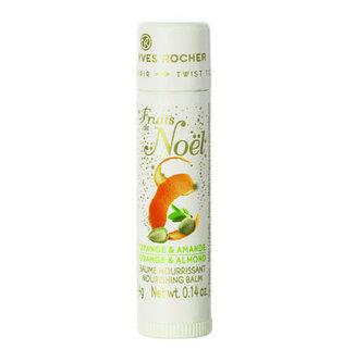 Fruits de Noel - pomarańcza i migdał - pachnący balsam do ust w sztyfcie (edycja limitowana)