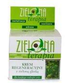 Zielona Terapia - Krem regeneracyjny z zieloną glinką dla każdego rodzaju cery