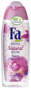 Natural & Pure - Rose & passionflower - żel pod prysznic