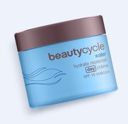 BeautyCycle - Woda - krem nawilżająco-odżywczy SPF 15 na dzień