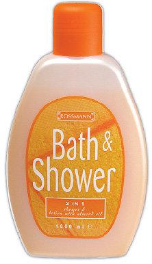 Bath & Shower - Migdałowy płyn do kąpiel i pod prysznic 2w1
