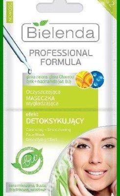 Professional Formula - oczyszczająca maseczka wygładzająca - efekt detoksykujący